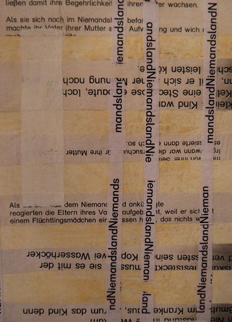 Oehrlein Gabriele Gedicht und Collagen