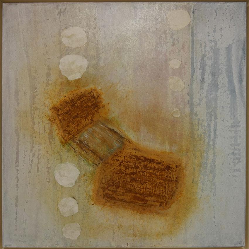 Gabriele Oehrlein Egenhofen Malerei mit Rost